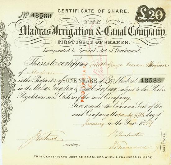 Madras Irrigation & Canal Company