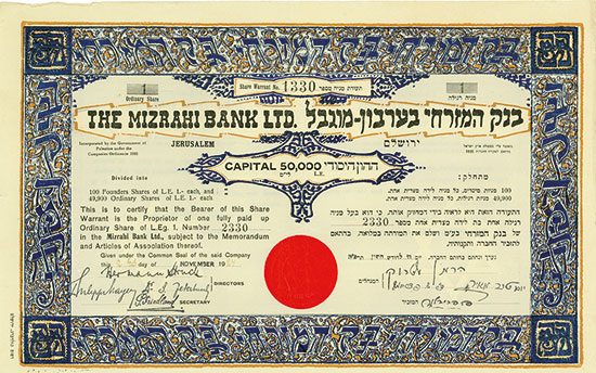 Mizrahi Bank Ltd.