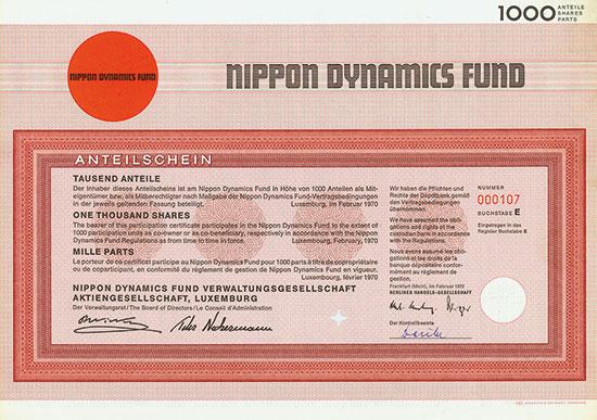 Nippon Dynamics Fund