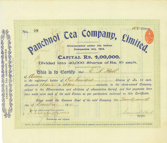 Panchnoi Tea Company, Limited