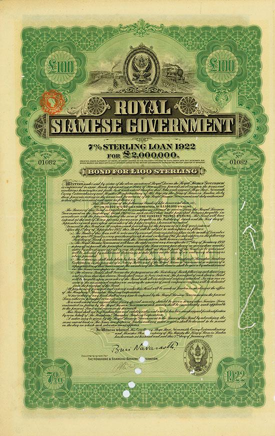 Royal Siamese Government