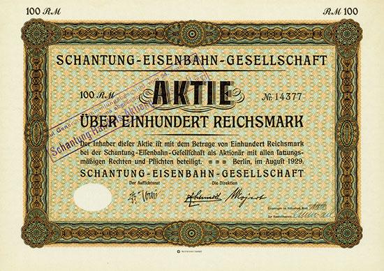 Schantung-Eisenbahn-Gesellschaft