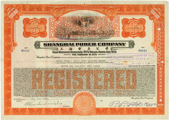 Shanghai Power Company