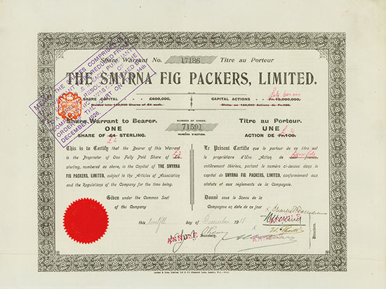 Smyrna Fig Packers, Limited