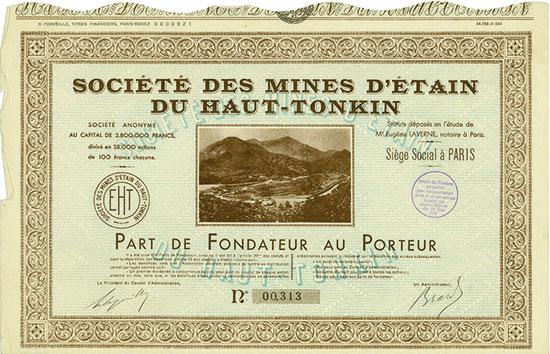 Société des Mines d'Étain du Haut-Tonkin