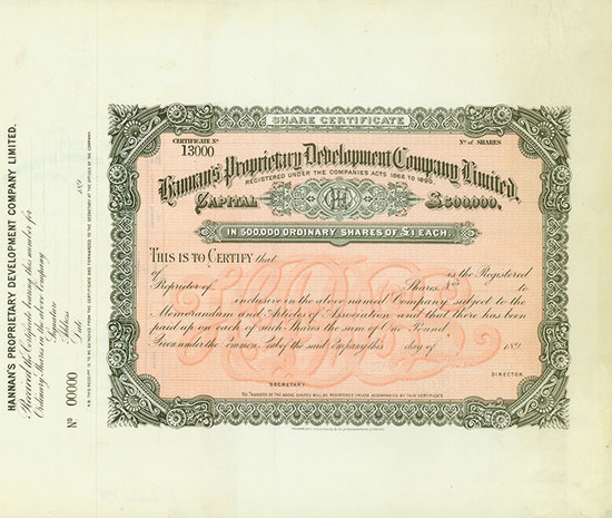 Hannan's Proprietary Development Company Limited