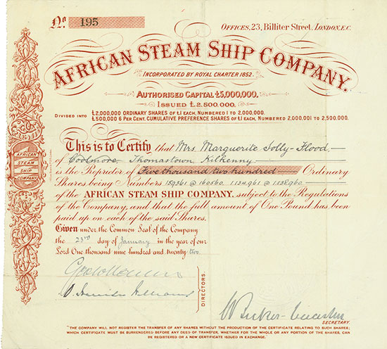 African Steam Ship Company