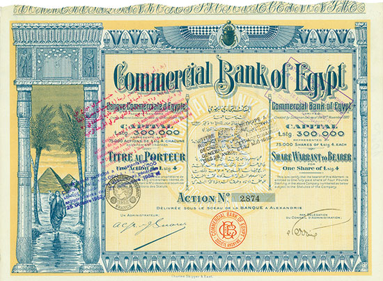 Commercial Bank of Egypt Limited