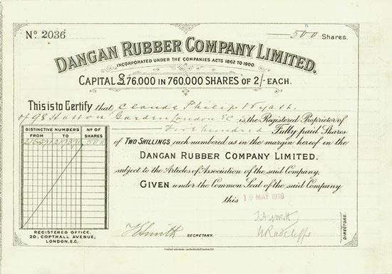 Dangan Rubber Company Limited