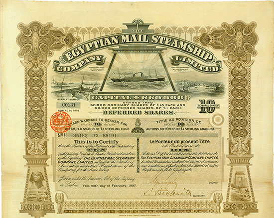 Egyptian Mail Steamship Company Limited