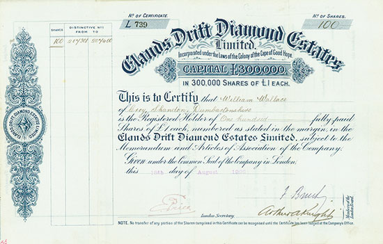 Elands Drift Diamond Estates Limited