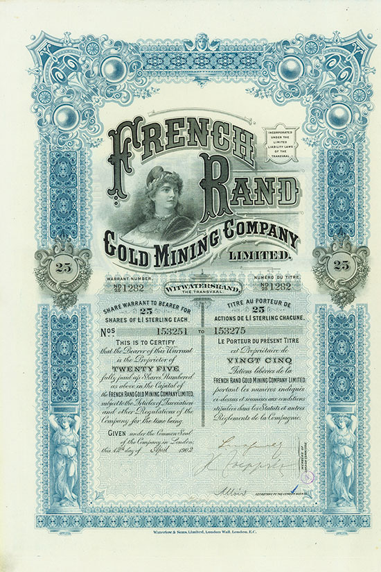 French Rand Gold Mining Company Limited