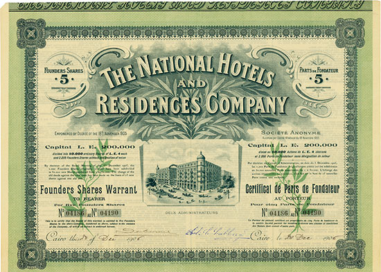 National Hotels and Residences Company