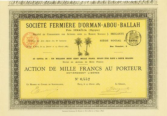 Société Fermière d'Orman-Abou-Ballah
