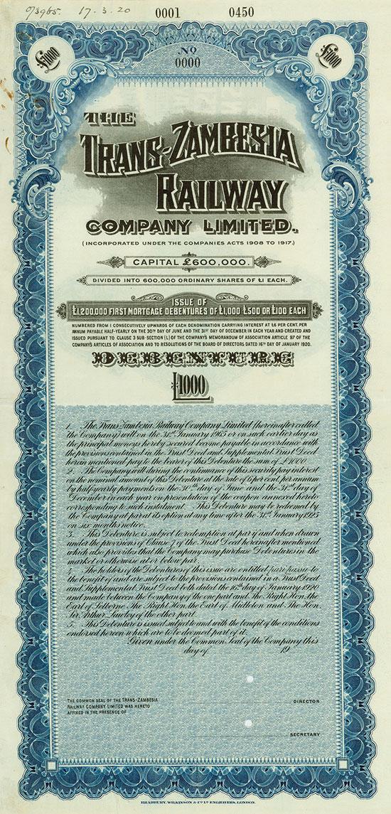 Trans-Zambesia Railway Company Limited