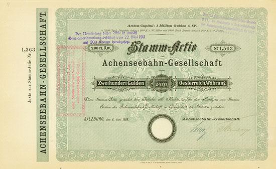 Achenseebahn-Gesellschaft