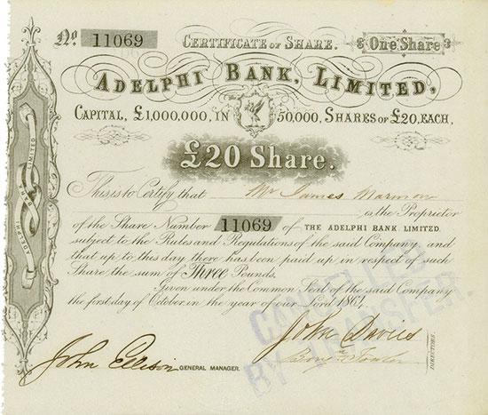 Adelphi Bank, Limited