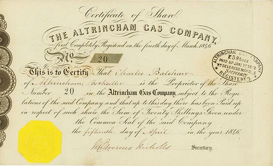 Altrincham Gas Company