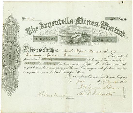 Argentella Mines Limited