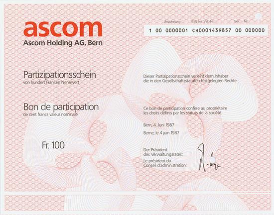 Ascom Holding AG