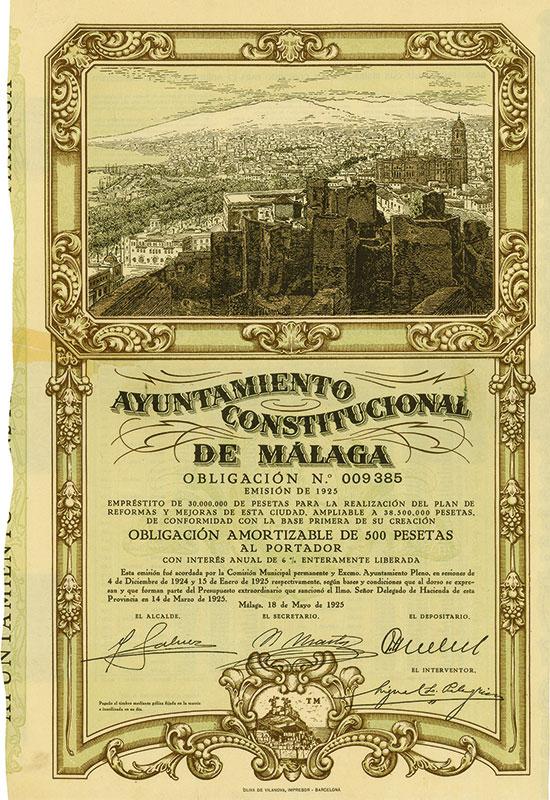 Ayuntamiento Constitucional de Málaga