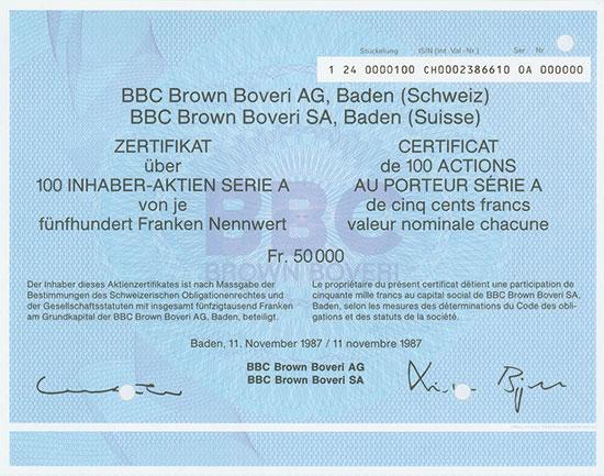 BBC Brown Boveri AG