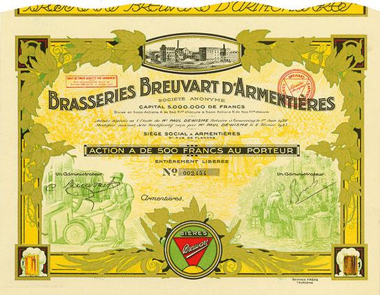 Brasseries Breuvart d'Armentières