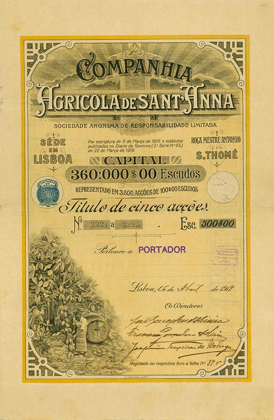 Companhia Agricola de Sant'Anna