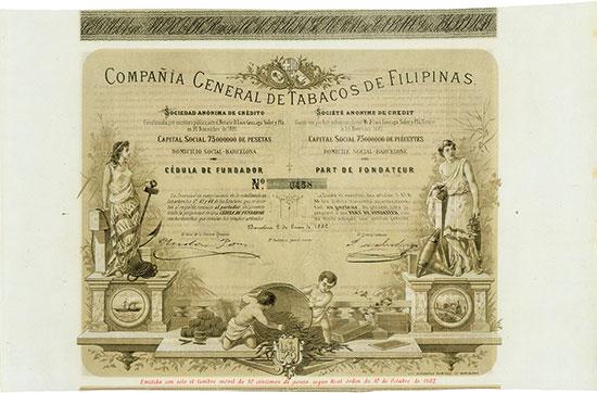 Compania General de Tabacos de Filipinas [3 Stück]
