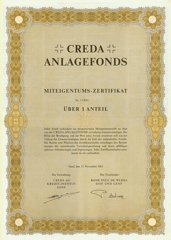 CREDA Anlagefonds