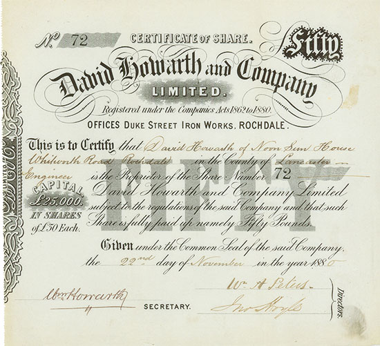 David Howarth and Company Limited