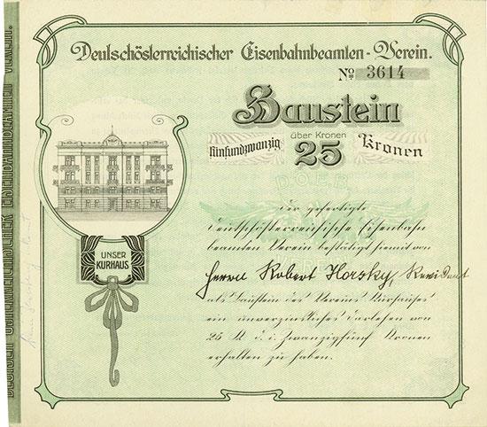 Deutschösterreichischer Eisenbahnbeamten-Verein