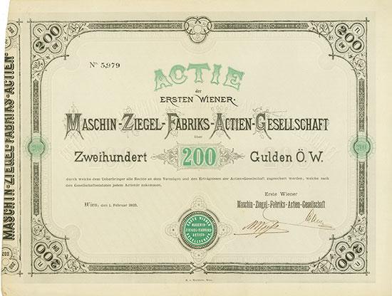 Erste Wiener Maschin-Ziegel-Fabriks-AG