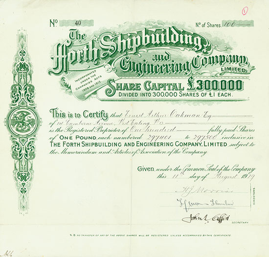 Forth Shipbuilding and Engineering Company, Limited