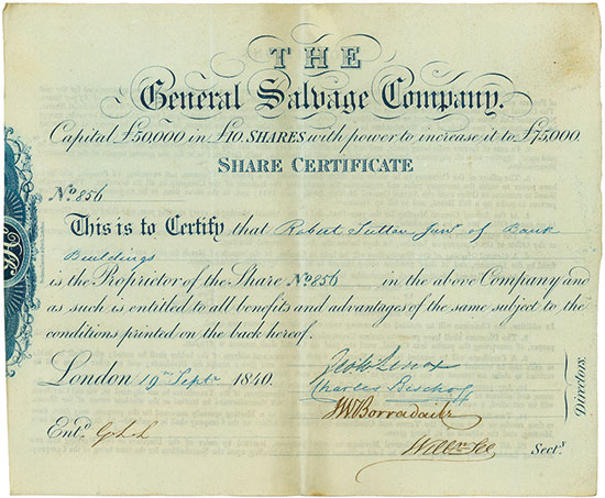 General Salvage Company