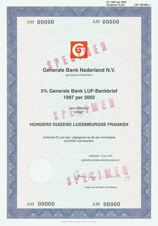 Generale Bank Nederland N.V.