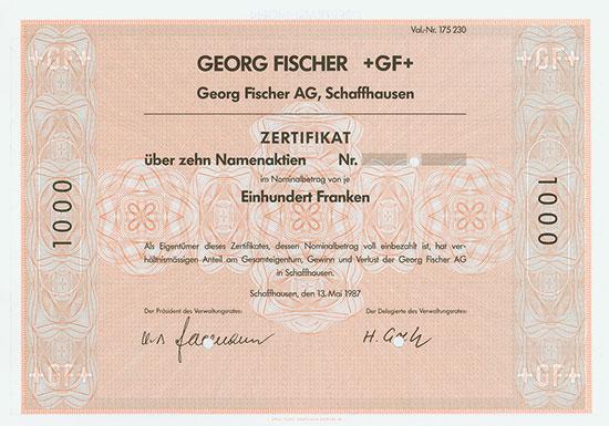 Georg Fischer AG