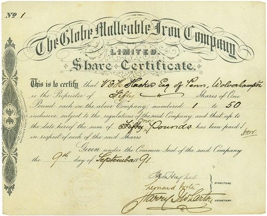 Globe Malleable Iron Company