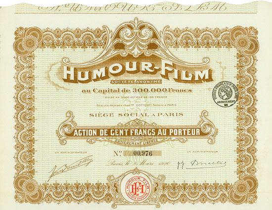 Humour-Film Société Anonyme