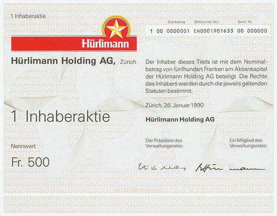 Hürlimann Holding AG