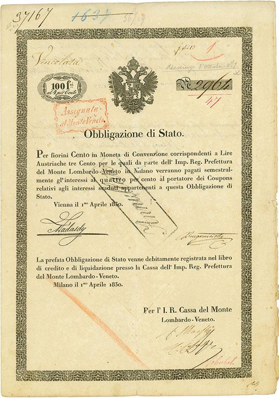 I. R. Cassa del Monte Lombardo-Veneto