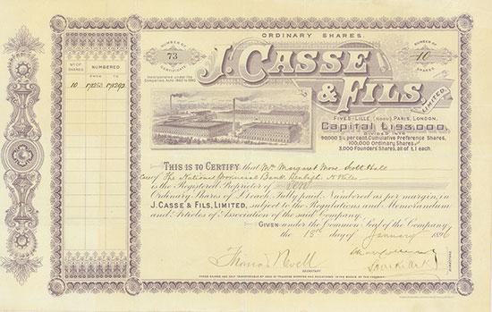 J. Casse & Fils, Limited
