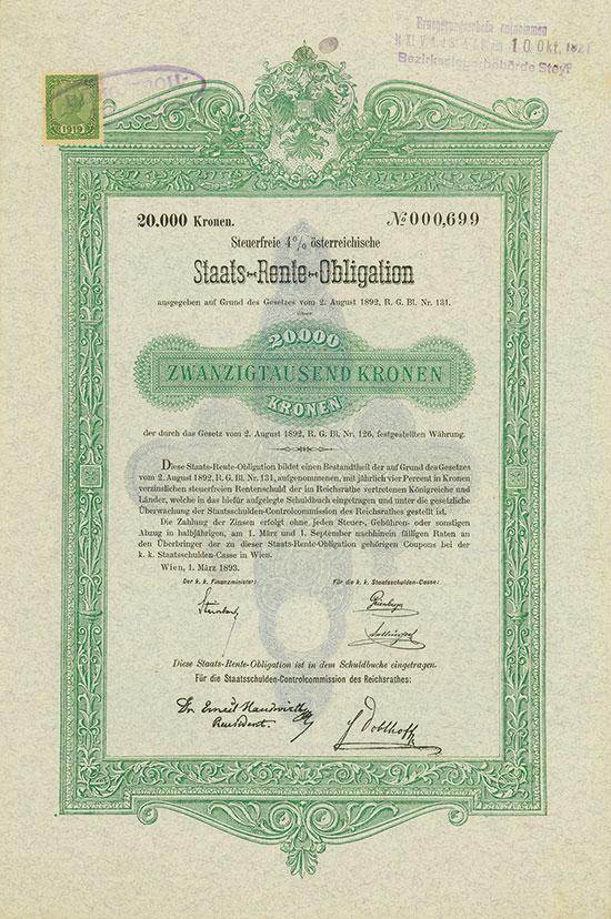 k. k. Staatsschulden-Casse