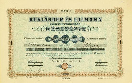 Kurländer és Ullmann