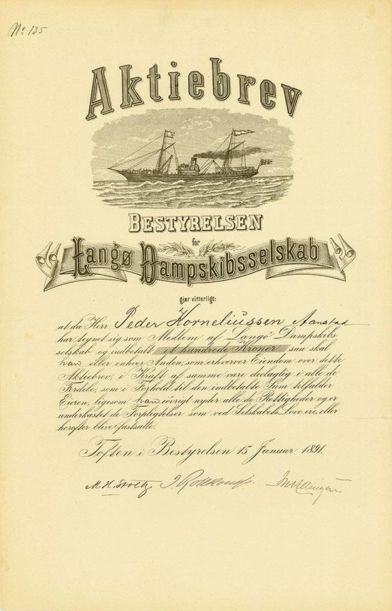Langø Dampskibsselskab