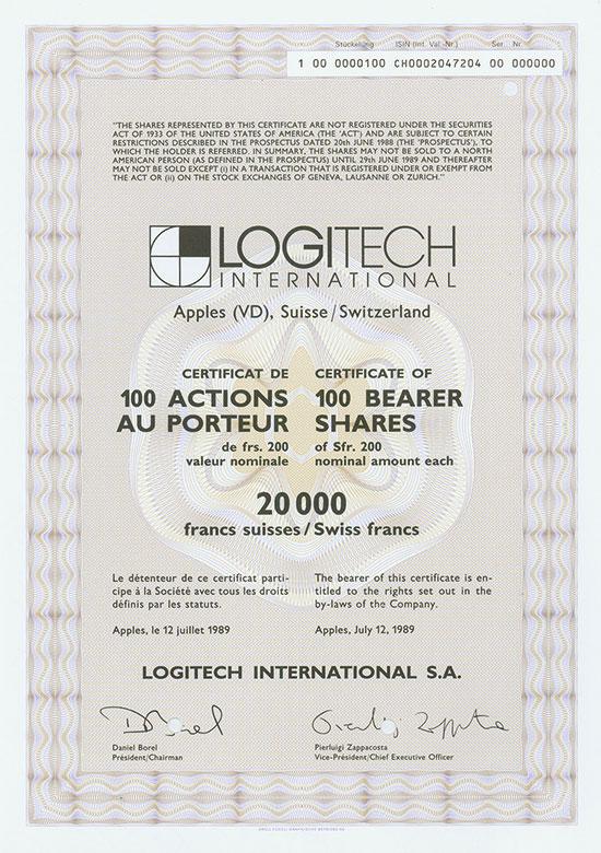 Logitech International S. A.