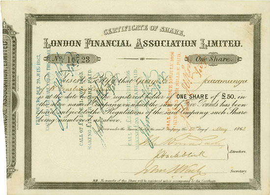 London Financial Association Limited
