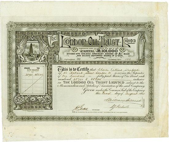London Oil Trust Limited