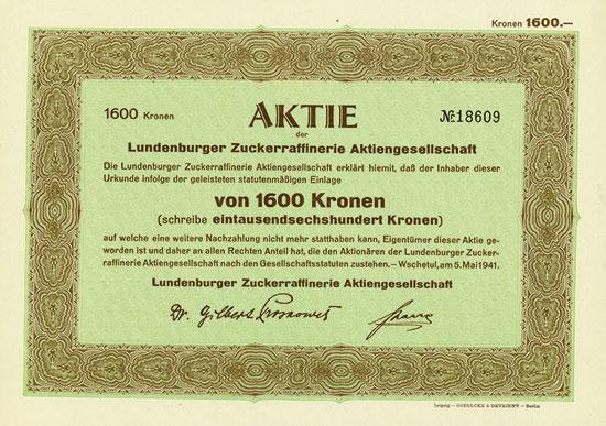 Lundenburger Zuckerraffinerie AG