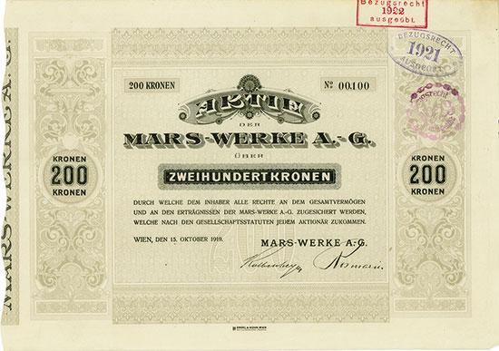 Mars-Werke A.-G.
